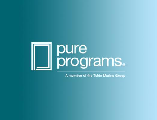 Logo for PURE Programs, A Member of the Tokio Marine Group.